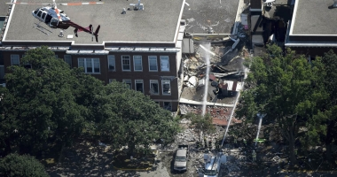 Explozie la o şcoală privată din Minneapolis. Clădirea s-a prăbuşit. Cel puţin doi morţi şi mai mulţi dispăruţi