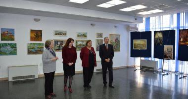 Expoziţie de artă plastică, la Muzeul Marinei