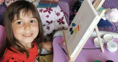 Cum arată universul copilăriei, în ochii unei artiste de 4 ani