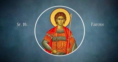 Credincioşii îl cinstesc duminică pe Sfântul Mucenic Fanurie