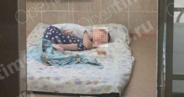 Fetiță folosită ca sclavă sexuală în schimbul unei sticle de vodcă. Mama o ținea în cușcă