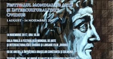 """LANSARE DE FILM """"Ovidius"""", 50 de ani de la înfrățirea orașelor Constanța și Sulmona"""