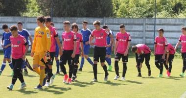FC Viitorul U15 ratează turneul final al Campionatului Naţional