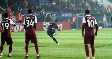 FC Viitorul, trei puncte cu CFR Cluj.  Eric, execuţie magistrală