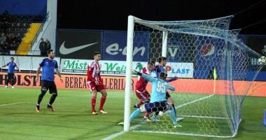 FC Viitorul, trei goluri şi trei puncte cu Sepsi Sf. Gheorghe