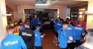 FC Viitorul şi-a mutat tabăra la Warka