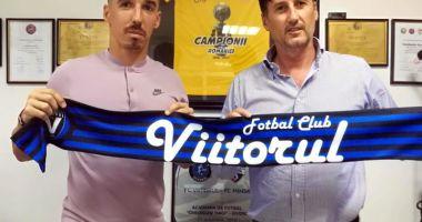 FC Viitorul a transferat un mijlocaş de la ACS Poli Timișoara