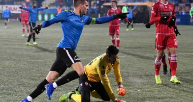 FC Viitorul  a zdrobit pe Dinamo Bucureşti.