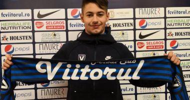FC Viitorul  i-a prelungit contractul mijlocaşului Alexandru Măţan