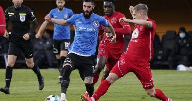 FC Viitorul, trei puncte de aur în partida cu Gaz Metan Mediaş