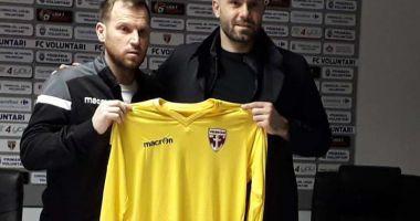 FC Voluntari l-a transferat pe portarul bulgar Bojidar Mitrev