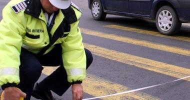 Femeie de 50 de ani, lovit� de o ma�in� pe strada Burada