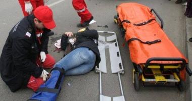 ACCIDENT RUTIER LA CONSTAN�A, pe strada Burada. Victima, o femeie de 50 de ani