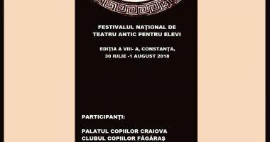 Teatrul antic vine la Constanța