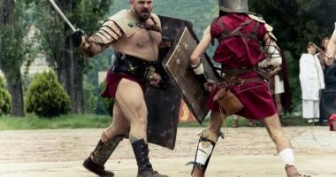 Marea luptă între daci, sciţi şi romani, în cetatea Tomis
