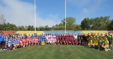 Fetele au făcut spectacol la rugby în 7, la Constanţa