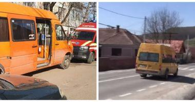 Şoferul microbuzului din care o elevă de 12 ani a căzut şi a murit a fost reţinut