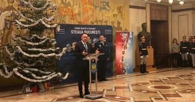 Fifor i-a felicitat pe sportivii de CSA Steaua Bucureşti pentru performanţele obţinute în 2017