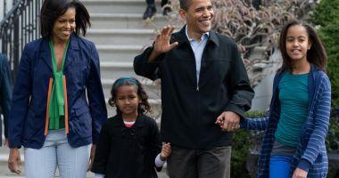 Fiicele cuplului Obama, concepute  cu ajutorul fertilizării in vitro