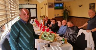 GALERIE FOTO /Antrenorul Viorel Filimon, sărbătorit la Constanţa!