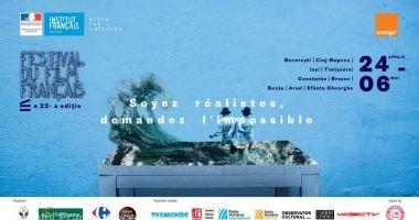 Festivalul Filmului Francez, în perioada 24 aprilie - 6 mai, la Constanța