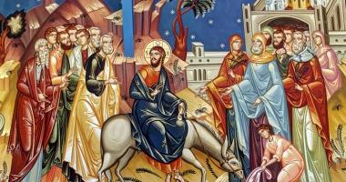 Duminica Floriilor, ziua intrării Mântuitorului  în Ierusalim