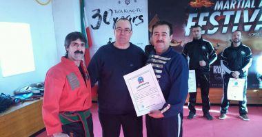 Florin Iordănoaia, ales în comitetul de conducere al Federaţiei Mondiale de Kung-Fu