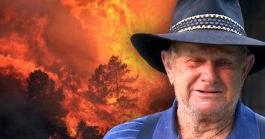 DRAMATIC! Un bărbat și-a pierdut în incendiu nevasta și cei doi nepoți: Îmi tot spunea: «Bunicule, hai vino să mă iei»