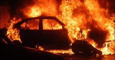 TRAGEDIE! Două persoane au fost murit carbonizate, după ce o maşină s-a răsturnat şi a luat foc
