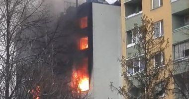 Explozie la un spital COVID din Cernăuţi. Un om a murit