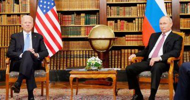 Întâlnirea Biden-Putin, punct de plecare pentru viitoarele relaţii bilaterale