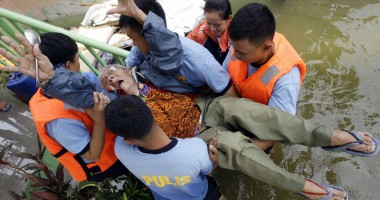 Dezastru �n Filipine, �n urma taifunului Haiyan. Peste 1.200 de persoane au murit