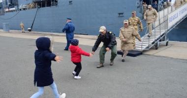 Premieră marcată de fregata