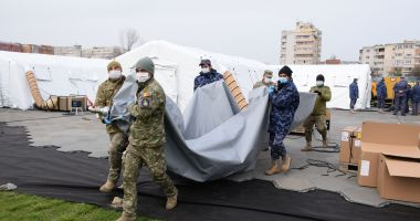 Pregătiri în spitalele din Constanța, pentru preluarea pacienților cu Covid-19
