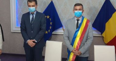 Gheorghe Cojocaru, învestit în funcția de primar al orașului Murfatlar