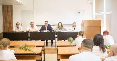 Șefii de secții din spitale, chemați la raport de președintele CJC Marius Horia Țuțuianu