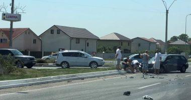 Intersecție periculoasă în județul Constanța. Localnicii vor un sens giratoriu, primarii o șosea!
