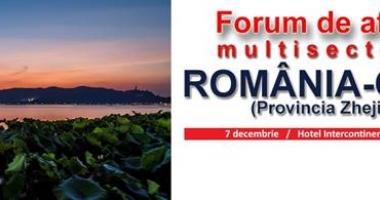 Forumul de afaceri şi Investiţii România-Zhejiang, China