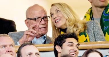Fosta iubită a lui Mick Jagger,  logodnă cu mogulul Rupert Murdoch