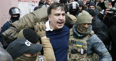 Fostul președinte georgian  Mihail Saakașvili,  eliberat de un tribunal din Kiev