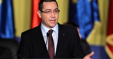 Fostul premier Victor Ponta va vota împotriva Guvernului Dăncilă