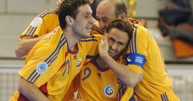 Futsal / România, învinsă de Portugalia cu 4-1, în primul său meci la EURO 2018