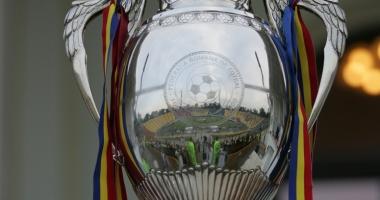 S-au tras la sorţi semifinalele Cupei României