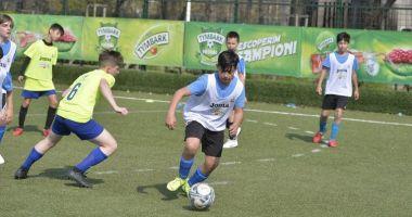 Cei mai talentaţi mici fotbalişti vor juca în turneul final de la Cumpăna