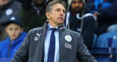 Leicester City rămâne fără antrenor după înfrângerea cu Crystal Palace