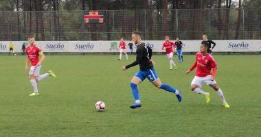 Înfrângere pentru FC Viitorul, în amicalul cu Vejle