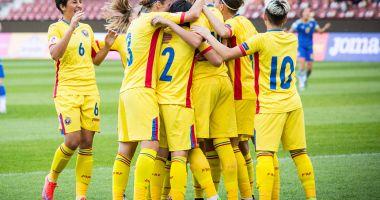 Fotbal feminin/ Victorie categorică a României în faţa Lituaniei în preliminariile EURO 2021