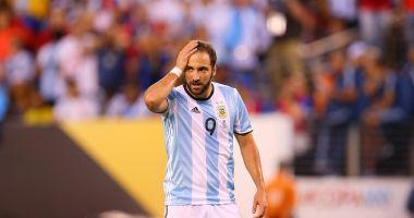 Gonzalo Higuain s-a retras din naţionala Argentinei