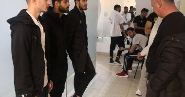 Fotbaliştii Viitorului au efectuat vizita medicală, înaintea plecării spre Turcia