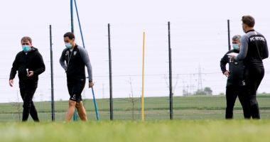 Fotbaliștii de la FC Viitorul au revenit la antrenamente